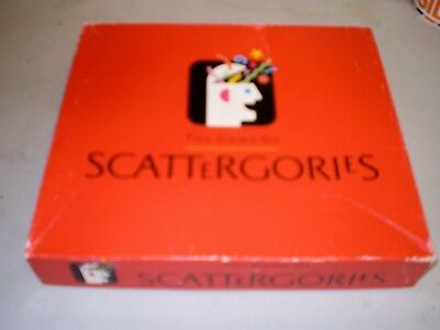 Scattergories Game By Milton Bradley - 1988