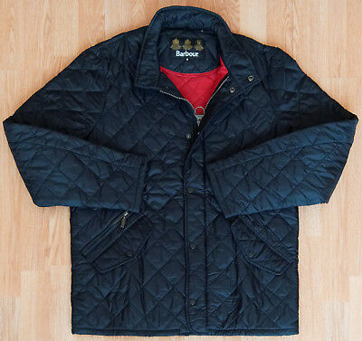 Barbour FLYWEIGHT CHELSEA QUILTED Men's Jacket M Black