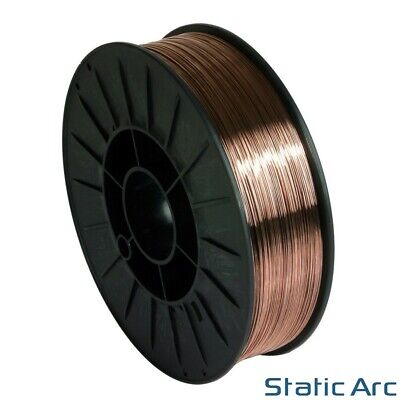 MILD STEEL MIG WELDING WIRE REEL SPOOL ROLL SOLID CORE GAS MAG 0.8mm 5KG