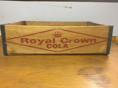 1958 Royal Crown Cola Vernors Giner Ale Advetising Crate Caddy