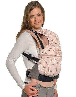 Manduca baby carrier Limited Edition - Birdie sweet caramel 100% Organic cotton