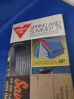 1973 Canadian Tire Corp Catalog Spring Summer Vintage Shipping Wrapper Intact