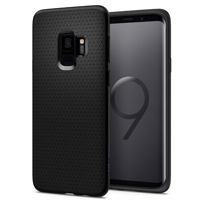 For Galaxy S9 / S9 Plus | Spigen® [Liquid Air] Slim TPU Protective Cover Case