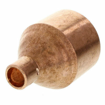 """2"""" x 1/2"""" COPPER REDUCER COUPLING PIPE FITTING MOONSHINE STILL COLUMN"""