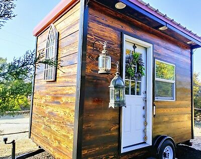 "Brand New Tiny House on Wheels ""Wanderlust"""