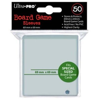 Ultra Pro Board Game Sleeves 69X69Mm X 50 sleeves - Sale