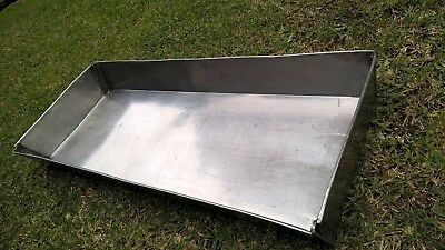 stainless steel butcher tray for mixing meat sausages etc melbourne