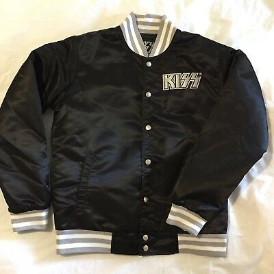 KISS Army Black Satin Jacket