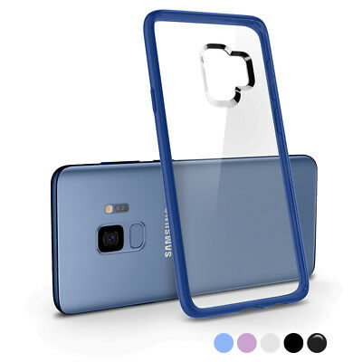 For Galaxy S9 / S9 Plus, Spigen® [Ultra Hybrid] Bumper TPU Shockproof Cover Case
