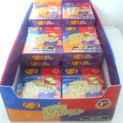 12 x 45g Jelly Belly Bean boozled Weird & Wild Flavours Lollies - 3rd Edition