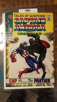 Tales of Suspense #98 - Captain America vs. Black Panther F/VF NO RESERVE!!!