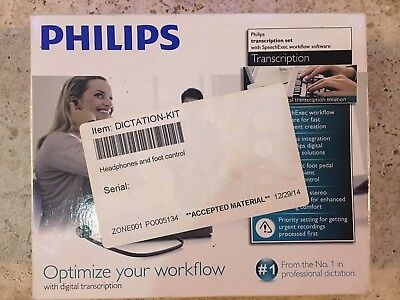 Philips SpeechExec Pro Transcription Set Workflow Software (LFH-7177) LFH7177