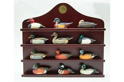 Jett Brunet new miniature decoy collection with exclusively for Ducks Unlimited.