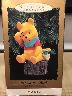 Hallmark Keepsake Ornament Disney Winnie The Pooh Magic 1993