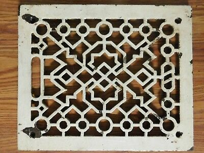 "Ant./Vintage Rectangular 9 1/2 x 11 1/4"" Cast Iron Register Grate  Arch. Salvage"