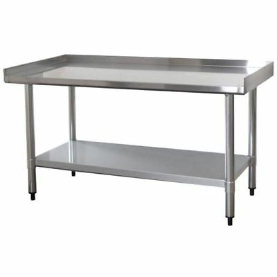 Attrayant New Work Table, 4 Ft. X 2 Ft. Stainless Steel Worktable Storage W