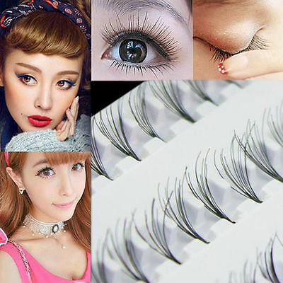 Femmes maquillage 60 extension plateau individuel faux cils cluster Eye cils
