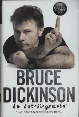 Bruce Dickinson What Does This Button Do? UK book 978-0-00-817243-5