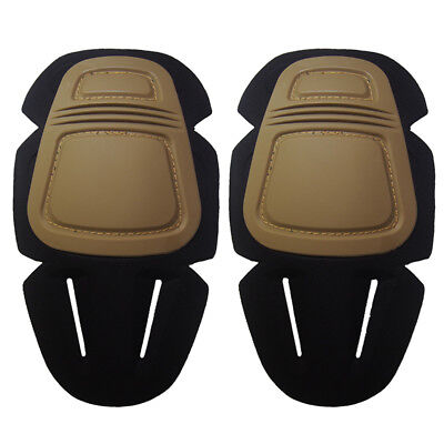 Outdoor Military Airsoft Tactical Combat Protective Set Gear Knee Pads new 1''