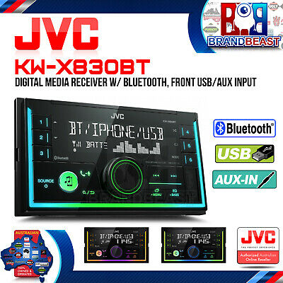 Jvc KW-X830BT Double-din Bluetooth Usb Head Unit Spotify Iphone Android NO CD