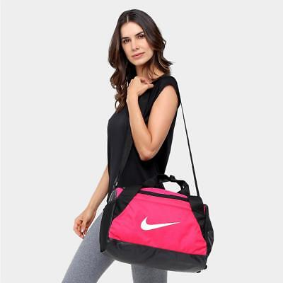 NIKE BRASILIA XS Extra Small Gym Duffel Bag Training Pink 25L BA5432 ... 71a43cce65