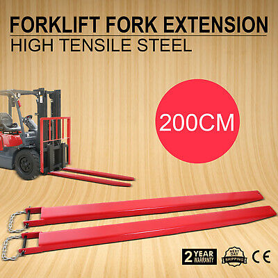 82x4.9''  Pallet Fork Extensions for forklifts lift truck forklift