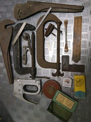 Collection of Old Vintage Antique Tools - Make a Great Display