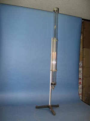 Cenco Central Scientific Coin and Feather Demonstration Apparatus Vacuum Tube