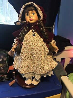 One of a kind wooden Gretchen collector doll
