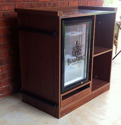 Bundaberg Rum - Bundy Bar - Bundaberg Rum Glass Door Bar Fridge