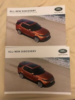 Land Rover Discovery 5 Launch Edition Sales Brochure