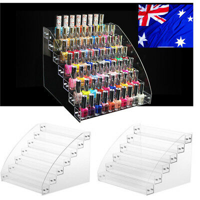 AU!7Tier Nail Polish Lipstick Holder Jewelry Display Rack Makeup Stand Organizer