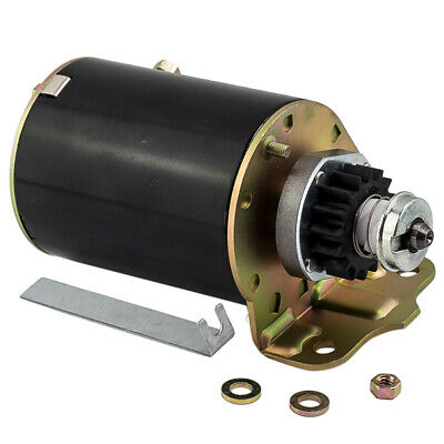 Starter Motor for Briggs & Stratton 16 tooth Heavy Duty and Ride on Mower 394805