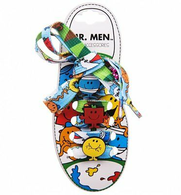 Official Mr Men Shoelaces With Charms