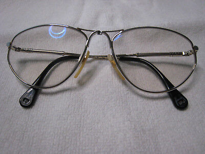 Aigner Brille EA 62 55 silber gold glasses lunettes Gestell