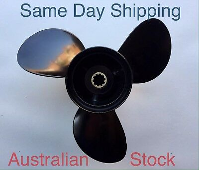 New Tohatsu Mercury Mariner Propeller Prop 25 30 Hp 9 7/8 X 13P