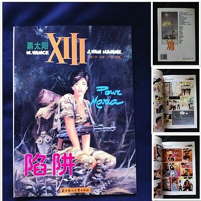 Xiii Pour Maria Edition Chinois Vance Van Hamme Chine China Bd Treize 13 Comic