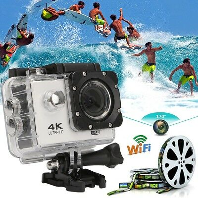 SJ8000 4K Ultra HD 170º Wide Angle 2.0'' LCD WiFi Sports Action Camera Camcorder