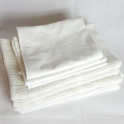 Used Cellular Blankets And Sheets Bundle For Moses Baskets
