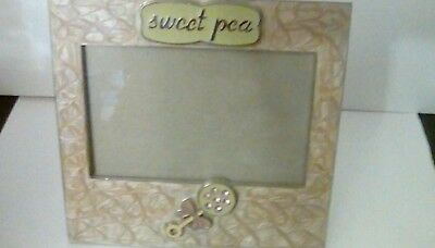 """Baby Picture Frame """"sweet pea"""""""