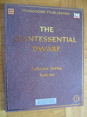 THE QUINTESSENTIAL DWARF book six MGP #4006 ENGLISCH d20 System Fantasy Dungeon