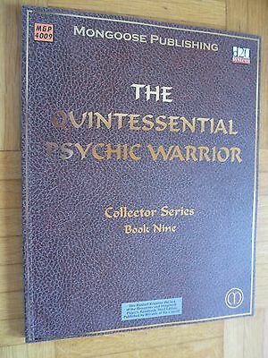 THE QUINTESSENTIAL PSYCHIC WARRIOR book Nine MGP #4009 – ENGLISCH d20 System Fan