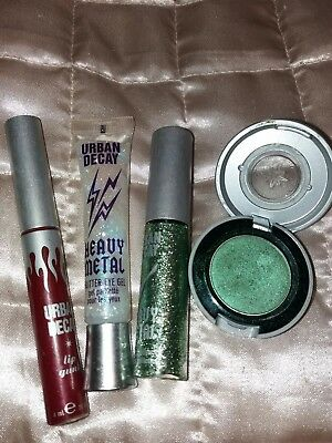Urban Decay heavy metal mixed make up glitters and gloss shadow
