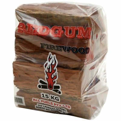 New Dried Firewood Clean Natural 15Kg Bag Australian Product For Your Fire