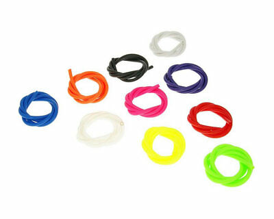 Fuel Line / Hose / Pipe 1m x 5mm in Various Colours for Scooters and Motorbikes