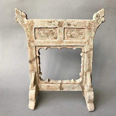 Ancient Chinese Ming Dynasty Terracotta Official Gate Model C.16th Century A.D.