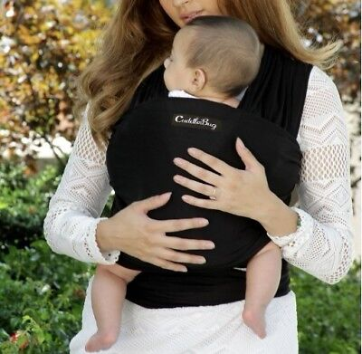 4-in-1 CuddleBug Baby Wrap Carrier | Soft Baby Carrier | Baby Sling Carrier