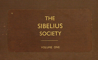 "LONDON SYMPH. & KAJANUS ""The Sibelius Society"" ""Tapiola"" ; Symph: No.5 u.a. A214"