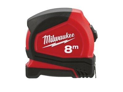 Milwaukee 48226626 Pro Tape Measure 8m - Metric Only