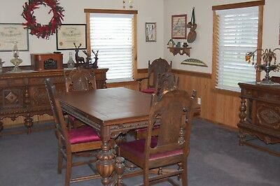 Antique dinning room set